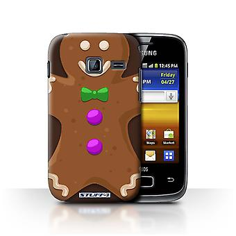 STUFF4 Case/Cover for Samsung Galaxy Y Duos/S6102/Gingerbread Man/Christmas Character