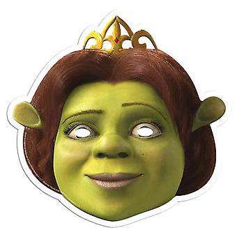 Princess Fiona from Shrek Single Card Party Face Mask