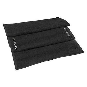 Artero Black towel 50 * 85 Cm (Woman , Hair Care , Hair Accessories , Towels and turbans)