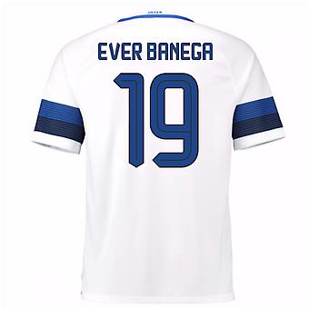 2016-17 Inter Milan Away Shirt (Ever Banega 19)