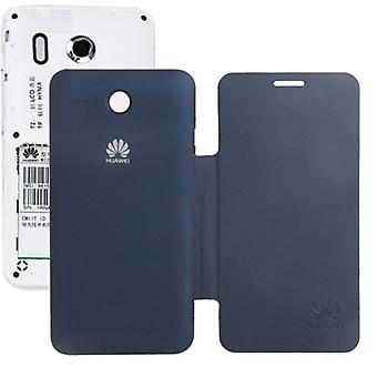 Mobile Shell flip cross for phone Huawei Ascend Y320 dark blue