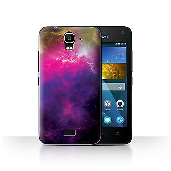 STUFF4 Case/Cover for Huawei Y3/Y360/Purple Nebula/Space/Cosmos