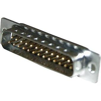 D-SUB pin strip 180 ° Number of pins: 15 Solder bucket Amphenol 717SD A15P 1 pc(s)