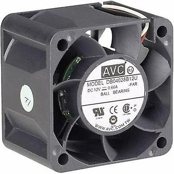 PC fan AVC F4028 (W x H x D) 40 x 40 x 28 mm