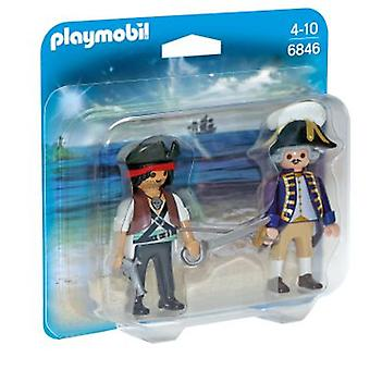 Playmobil 6846 Pirate and Soldier Duo Pack