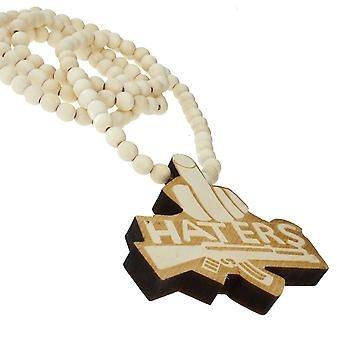Wood style bead chain - HATERS natural