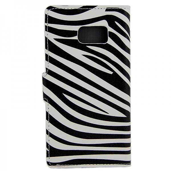 Cover wallet pattern 7 for Samsung Galaxy S6 G920 G920F