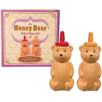 Honning bærer Salt og peber Shakers sæt porcelæn