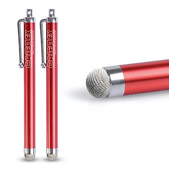 Caseflex Stylus Pen Red (Twin Pack)