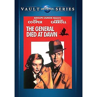 General Died at Dawn [DVD] USA import