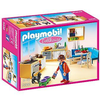 Playmobil 5336 land kjøkken Dukkehus