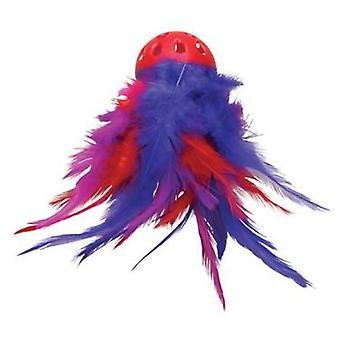 Kong Mega Feather Ball (Cats , Toys , Plush & Feather Toys)