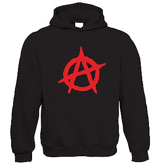 Vectorbomb, Anarchy, Unisex Mens Hoodie
