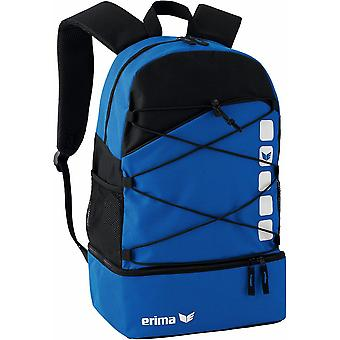 Erima multi functional backpack Club 5 with bottom compartment blue - 723340