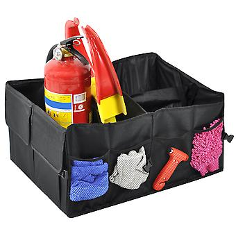 TRIXES Car Boot Organiser For Shopping Groceries Tools Picnic Storage Travel