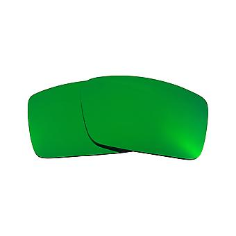 Best SEEK Polarized Replacement Lenses for Oakley GASCAN S Small Green Mirror