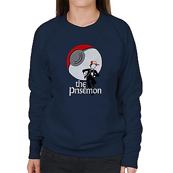 The Prisemon Pokemon The Prisoner Mash Up Women's Sweatshirt