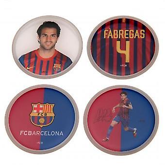 Barcelona 3D Sticker 4pk Fabregas