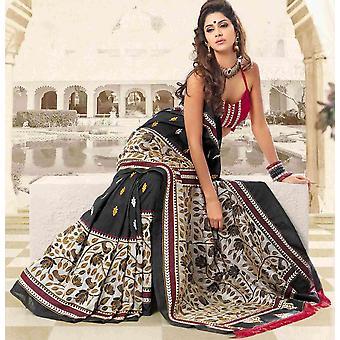 Ambay Festival Diwali Partei tragen Sari Sari - Indien