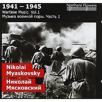 St.Petersburg State Academic Symphony Orchestra - krigstid 1: Nikolai Y. Miaskovsky - symfoni [CD] USA import