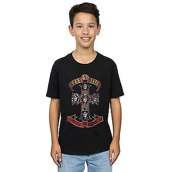 Guns N Roses Boys Appetite For Destruction Distressed T-Shirt