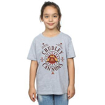 Harry Potter meisjes Chudley kanonnen Logo T-Shirt