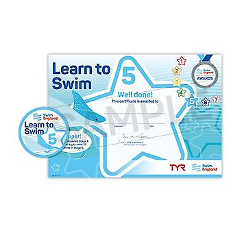 ASA Swim England Learn to Swim Award Stage 5