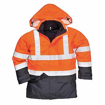 Portwest - Bizflame Rain Specialist Safety Hi-Vis Multi-Protection Jacket