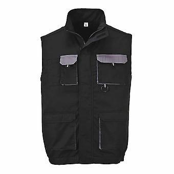 sUw - Texo Lightweight Workwear Cotton Rich Comfort Contrast Gilet