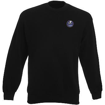 US Marine Seabees Stickerei Logo - Schwergewichts-Sweatshirt