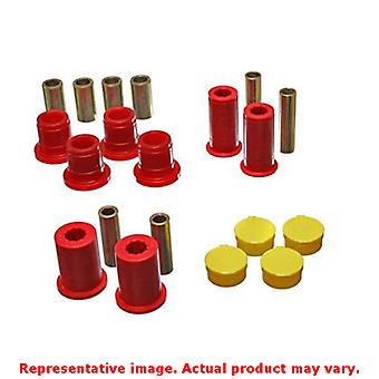 Energy Suspension Control Arm Bushing Set 5.3122R Red Front Fits:DODGE 1997 - 1