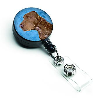 Field Spaniel  Retractable Badge Reel or ID Holder with Clip SS4801
