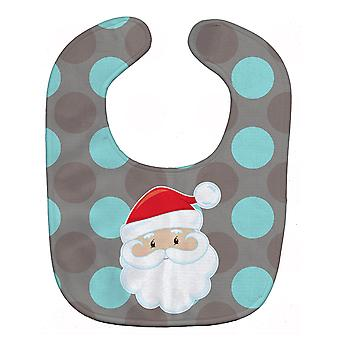 Carolines Treasures  BB8672BIB Bear on Polka Dots Baby Bib