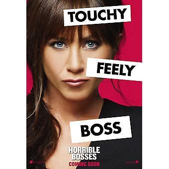 Horrible Bosses Movie Poster (11 x 17)