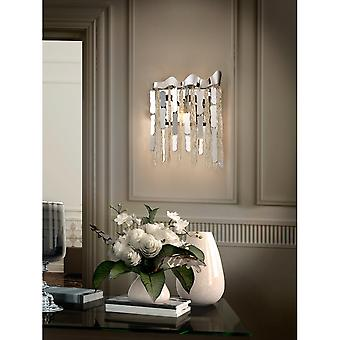 Schuller Chantal Wall Lamp 2L,Chrome