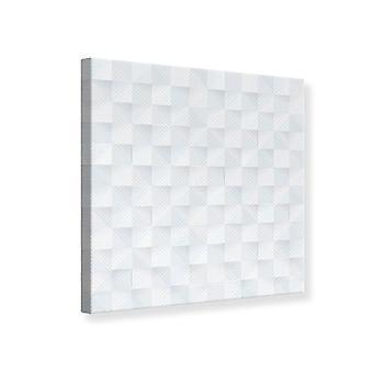 Canvas Print 3D Chessboard
