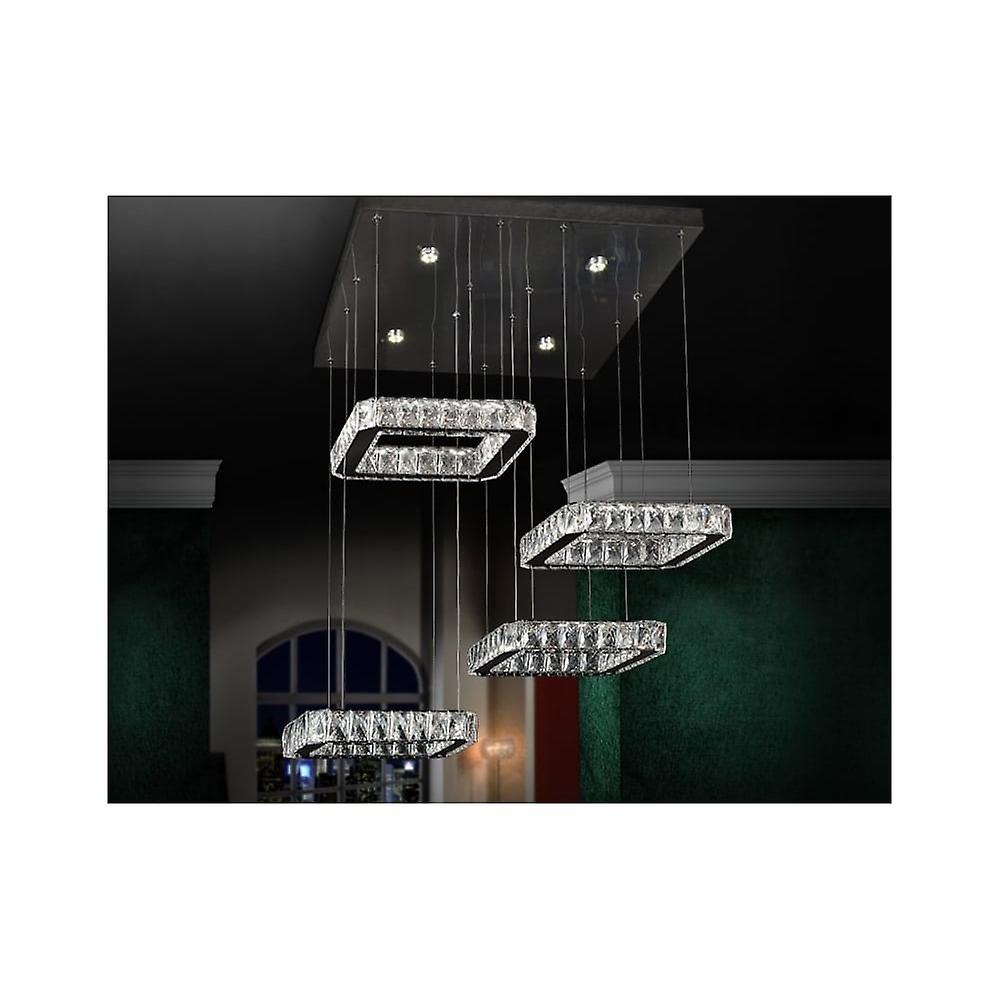 Schuller Diva LED carré Custer plafond pendentifs