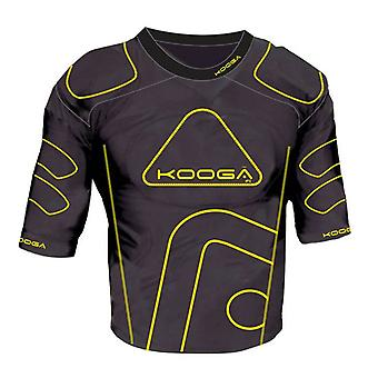KOOGA IPS Junior Rugby Shoulder Pads [black/yellow]