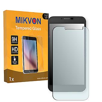 Medion Life E5004 Screen Protector - Mikvon flexible Tempered Glass 9H (Retail Package with accessories)