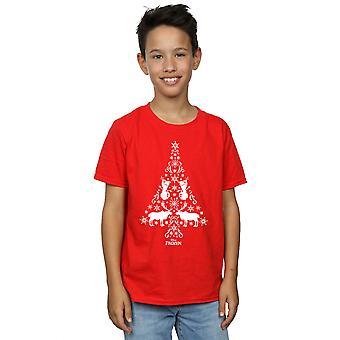 Disney jungen eingefroren Weihnachtsbaum T-Shirt
