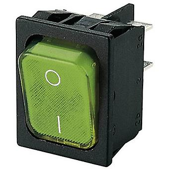 Toggle switch 250 V AC 6 A 2 x Off/On Marquardt 18