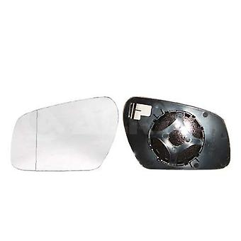 Left Mirror Glass (not heated) & Holder For FORD FOCUS II Estate 2004-2008