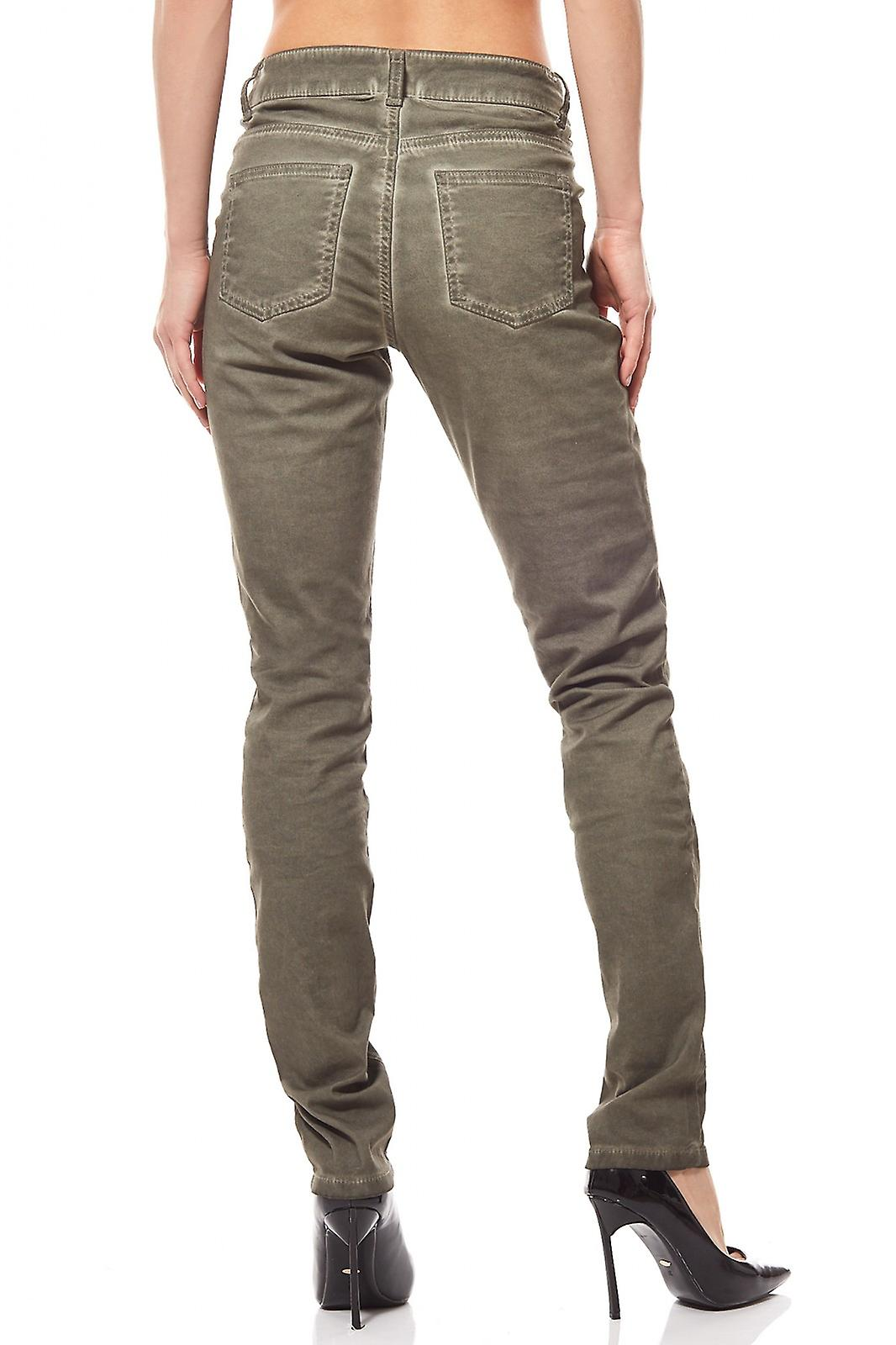 Trousers used look plus size green B.C.. best connections