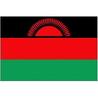 Malawi Flag 5ft x 3ft With Eyelets For Hanging
