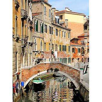 Venise vue II Poster Print par Golie Miamee (20 x 26)