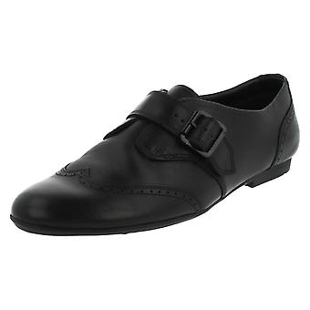 Girls Clarks Leather School Shoes No Task
