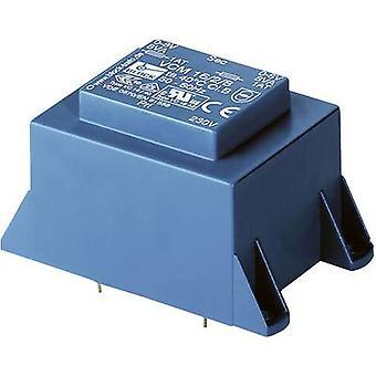 PCB montieren Transformator 1 x 230 V 1 X 24 V AC 10 VA 416 mA VCM 01.10.24 Block