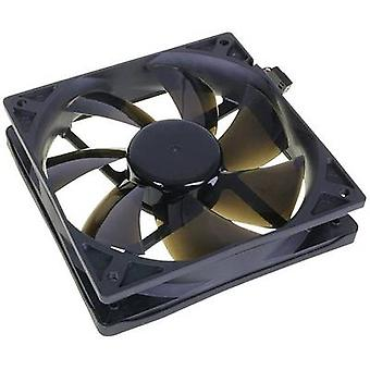 NoiseBlocker BlackSilent Pro PC fan Black (W x H x D) 120 x 120 x 25 mm