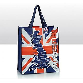 Union Jack slitasje Union Jack Storbritannia Shopping Bag