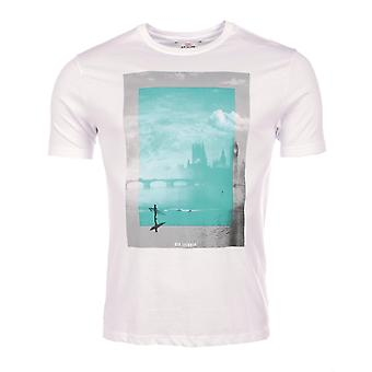 Short sleeve t-shirt White MB13458 Ben Sherman Man